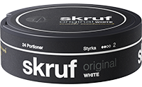 Skruf Original White Portion
