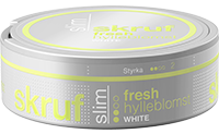 Skruf Slim Fresh Elderflower White Portion