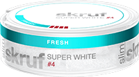 Skruf Super White Slim Fresh Extra Strong #4