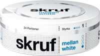 Skruf Medium White Portion