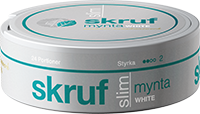 Skruf Slim Mynta White Portion
