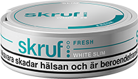 Skruf Slim Fresh White Portion