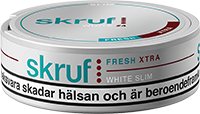 Skruf Slim Fresh Xtra White