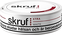 Skruf Xtra Strong White Portion