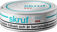Skruf Slim Fresh Strong White